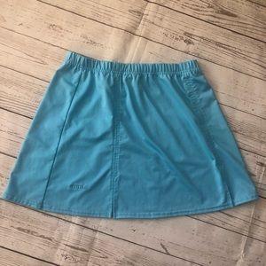 Bolle sport turquoise skirt tennis golf